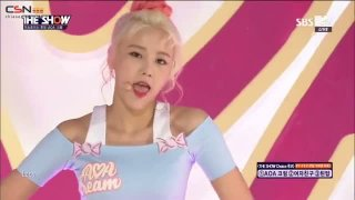 I'm Jelly Baby (The Show Debut Stage Live) - AOA Cream