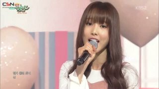 Cherish (Music Bank Debut Stage Live) - Yuju; Sunyoul