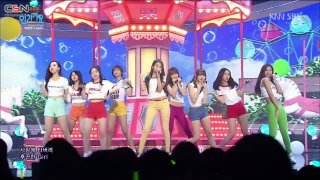 Gee (Inkigayo Special Stage Live) - GFriend; Twice