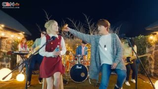 The Blue Night Of Jeju (Samdasoo Water CF) - Taeyeon; Kyuhyun