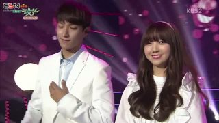 All For You; Greedy; Charm (Music Bank Duet Special Live) - Doyoung; Jihyo; DK; Kei; P.O; Yoo Sung Eun
