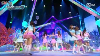 Dream Girls (M! Countdown Debut Stage Live) - I.O.I