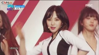 10 Seconds; Good Luck (Music Core Comeback Stage Live) - AOA