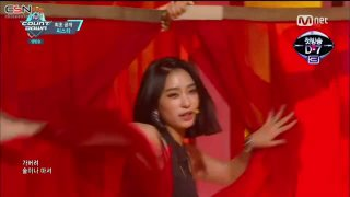String; I Like That (M Countdown Comeback Stage Live) - Sistar