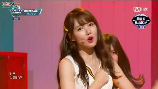 Gone With The Wind; Navillera (M Countdown Comeback Stage Live) - GFriend