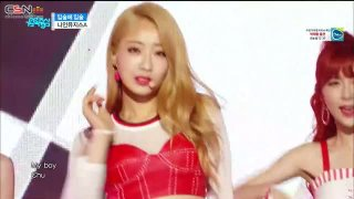 Lip 2 Lip (Music Core Debut Stage Live) - Nine Muses A