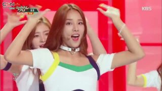 Oops!; Shooting Love (Music Bank Comeback Stage) - Laboum