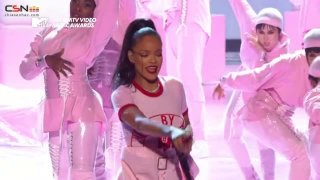 Don't Stop the Music; Only Girl; We Found Love; Where Have You Been (MTV Video Music Awards - VMA 2016 Live) - Rihanna