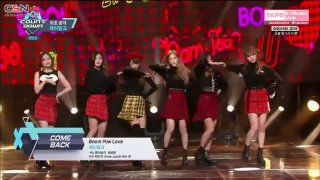 Boom Pow Love (M! Countdown Comeback Stage Live) - Apink