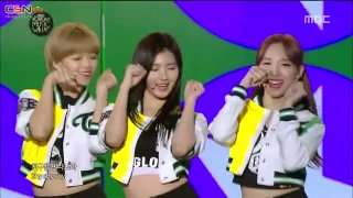 Gee; Like Ooh-Ahh; Cheer Up (Korean Music Wave Live) - Twice