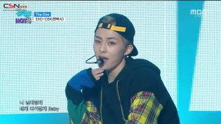 The One; Hey Mama! (Music Core Debut Stage) - EXO-CBX
