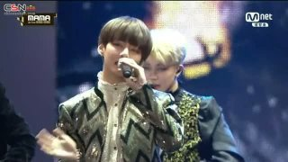 Boy Meets Evil; Blood Sweat & Tears (MAMA 2016 Live) - BTS