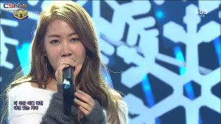 There's One More In Love Than In Goodbyes (Inkigayo Music Crush Live) - Soyou; Junggigo