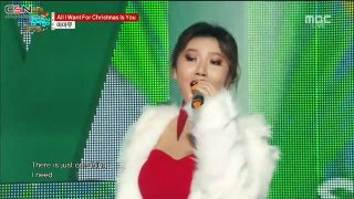 All I Want For Christmas Is You; Décalcomanie (Music Core Christmas Special) - Mamamoo