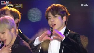 Blood Sweat & Tears; Fire (MBC Gayo Daejaejun 2016) - BTS