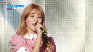 Excuse Me (Music Core Hot 3 Live) - AOA
