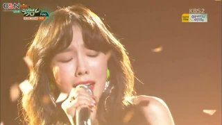Fine (Music Bank Comeback Stage Live) - Taeyeon