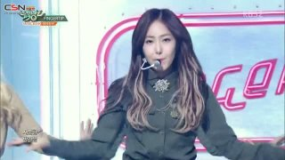 Hear The Wind Sing; Fingertip (Music Bank Comeback Stage) - GFriend