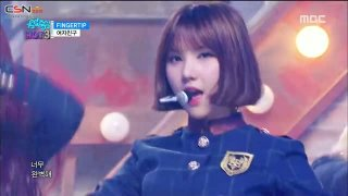 Hear The Wind Sing; Fingertip (Music Core Comeback Stage) - GFriend