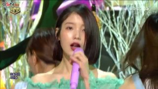 Palette (SBS Inkigayo Comeback Stage) - IU; G-Dragon
