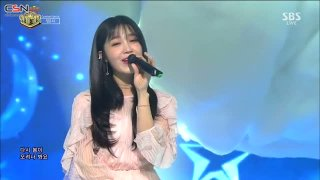 The Spring (Inkigayo Comeback Stage Live) - Jung Eunji