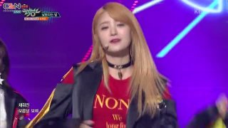 Night Rather Than Day (Music Bank Live) - EXID