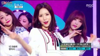 Now, We (Music Core Comeback Stage Live) - Lovelyz