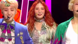 365 Fresh (Inkigayo Debut Stage Live) - Triple H
