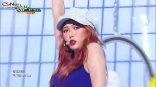 Sunflower; 365 Fresh (Music Bank Debut Stage Live) - Triple H