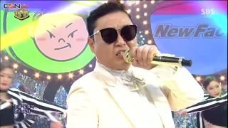 I Luv It; New Face (Inkigayo Comeback Stage Live) - Psy