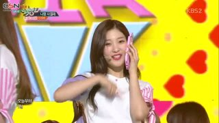 Will You Go Out With Me (Remix) (Music Bank Live) - DIA