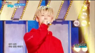 B-Day; Bling Bling (Music Core Comeback Stage Live) - iKON