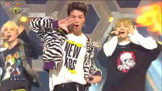 B-Day; Bling Bling (Inkigayo Comeback Stage Live) - iKON