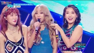 Shake It; I Swear; Touch My Body; Lonely (Music Core Goodbye Special Live) - Sistar