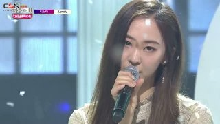 Lonely (Show Champion Goodbye Special Live) - Sistar