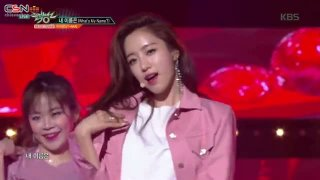 What's My Name? (Music Bank Live) - T-Ara