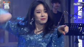 Bo Peep Bo Peep; I Go Crazy Because Of You; Roly Poly; Lovey Dovey (SNL Korea 9 Live) - T-Ara