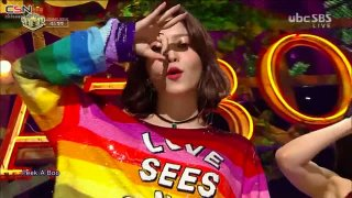Peek-A-Boo (Inkigayo Comeback Stage Live) - Red Velvet
