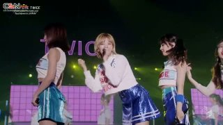 """KNOCK KNOCK -Japanese ver.- (TWICE DEBUT SHOWCASE """"Touchdown in JAPAN"""" M-ON 2017.11.25) - TWICE"""