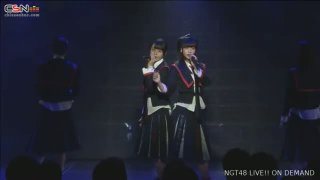 Sekai wa Doko Made Aozora na no ka? (世界はどこまで青空なのか?) (NGT48 2nd Single Release Special Theater Performance 2017.12.03) - NGT48