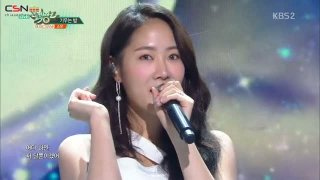 Grown-Up; The Night (Music Bank Comeback Stage Live) - Soyou