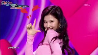 Merry & Happy; Heart Shaker (Music Bank Comeback Stage Live) - Twice