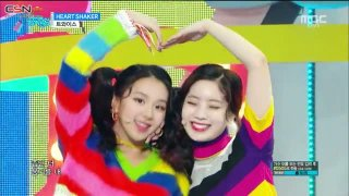 Merry & Happy; Heart Shaker (Music Core Comeback Stage Live) - Twice