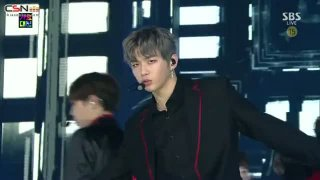 Energetic; Burn It Up (SBS Gayo Daejun 2017 Live) - Wanna One