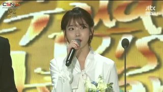 Through The Night (Digital Daesang Award Acceptance Speech + Encore Stage) (32nd Golden Disk Awards Live) - IU