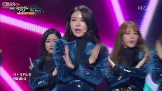Lovesick; The Boots (Music Bank Comeback Stage Live) - Gugudan
