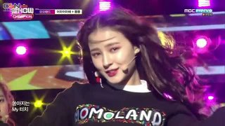 Wonderful Love; BBoom BBoom @ (K-Pop World Festa Live) - Momoland
