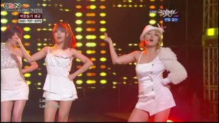 I Go Crazy Because Of You; Magic; Madonna; YaYaYa (KBS Music Bank Special Stage Live) - Secret; T-Ara