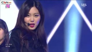 Black Dress (SBS Inkigayo Live) - CLC