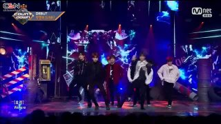 Feeling (Mnet M! Countdown Debut Stage Live) - UNB